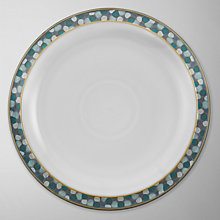 Buy Denby Azure Coast Shell Dessert Plate, Dia.23cm Online at johnlewis.com