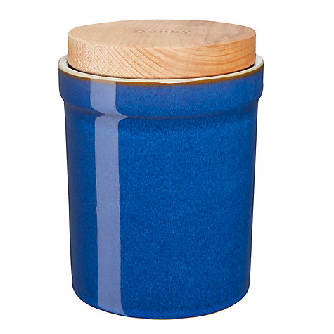 Buy Denby Imperial Blue Storage Jar Online at johnlewis.com