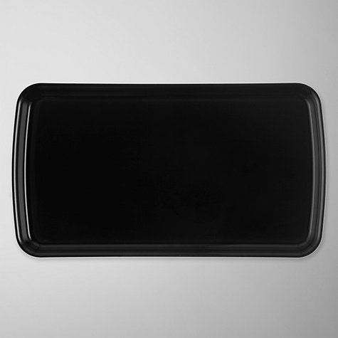 Buy Denby Jet Rectangular Plate Online at johnlewis.com