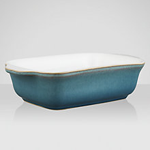 Buy Denby Azure Large Oblong Serving Dish Online at johnlewis.com