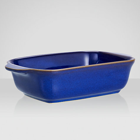 Buy Denby Imperial Blue Oval Serving Dish Online at johnlewis.com