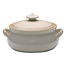Buy Denby Linen Casserole Dish Online at johnlewis.com