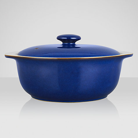Buy Denby Imperial Blue Casserole Dish Online at johnlewis.com