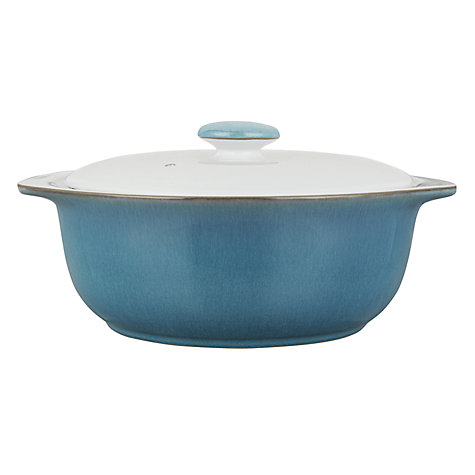 Buy Denby Azure Casserole Dish Online at johnlewis.com