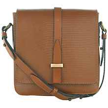 Buy Jigsaw Drummond Leather Satchel Bag Online at johnlewis.com