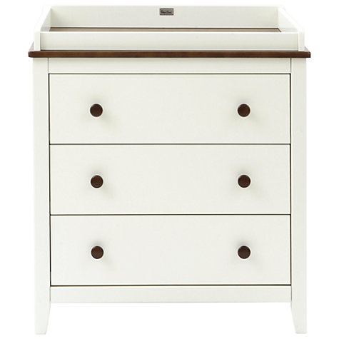 Buy Silver Cross Porterhouse Wardrobe and Dresser Set, Ivory and Chocolate Online at johnlewis.com