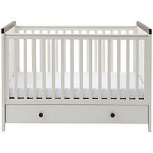 Buy Silver Cross Porterhouse Cotbed, Ivory and Chocolate Online at johnlewis.com