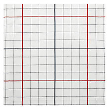 Buy John Lewis Restoration Checked Napkins, Set of 4 Online at johnlewis.com