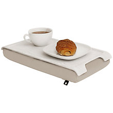 Buy Bosign Mini Laptray, White/ Cream Online at johnlewis.com