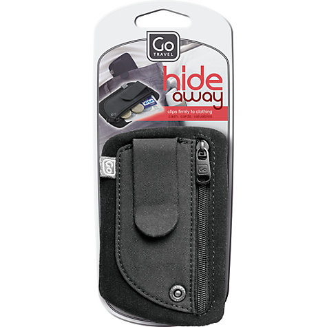 Buy Go Travel Clip Pouch, Black Online at johnlewis.com