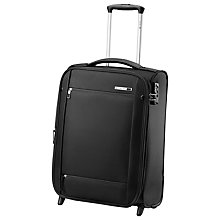 Buy Carlton O2 2-Wheel Cabin Suitcase, Black Online at johnlewis.com