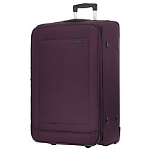 Buy John Lewis London II 2-Wheel Large Suitcase, Aubergine Online at johnlewis.com