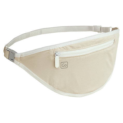 Buy Go Travel Body Pocket Money Belt, Beige Online at johnlewis.com