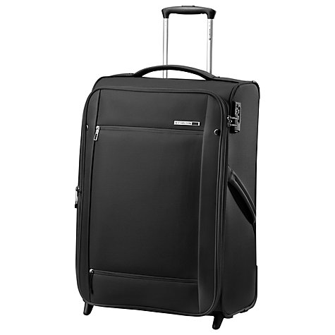 Buy Carlton O2 2-Wheel Large Suitcase, Black Online at johnlewis.com