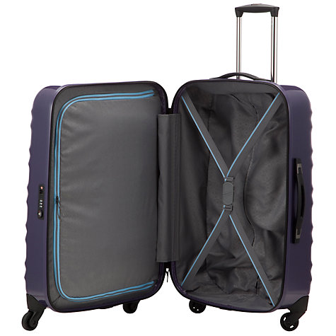 Buy John Lewis Verona 4-Wheel Large Suitcase, Purple Online at johnlewis.com