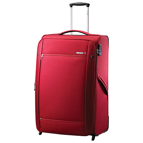 Buy Carlton O2 2-Wheel Large Suitcase, Crimson Red Online at johnlewis.com