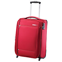 Buy Carlton O2 2-Wheel Cabin Suitcase, Crimson Red Online at johnlewis.com