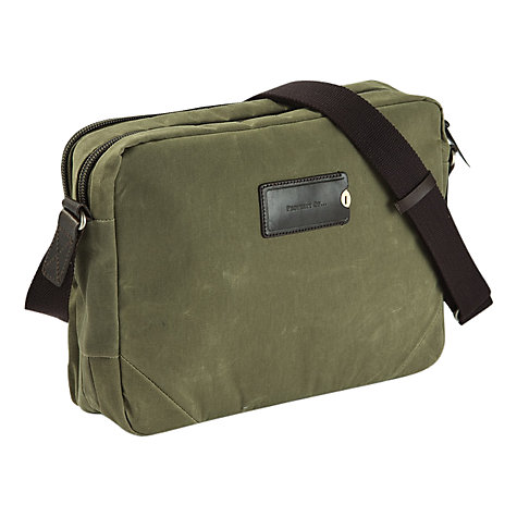 "Buy Property Of ... Tommy 13"" Laptop Work Bag, Green Online at johnlewis.com"