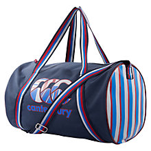 Buy Canterbury of New Zealand Uglies Barrell Bag, Navy Online at johnlewis.com
