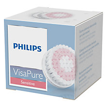 Buy Philips SC5991/10 Sensitive Skin Replacement Brush Head for VisaPure Online at johnlewis.com