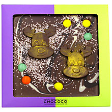 Buy Chococo Christmas Reindeer Chocolate Bar Online at johnlewis.com