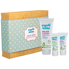 Buy Organic Babies Hello Baby Gift Box Online at johnlewis.com