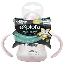 Buy Tommee Tippee Explora Easiflow First Sips Cup Online at johnlewis.com