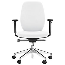 Buy Boss Design App Aluminium/Leather Office Chair Online at johnlewis.com