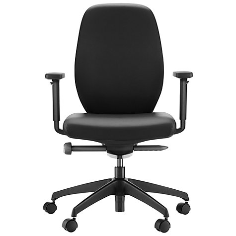 Buy Boss Design App Leather Office Chair Online at johnlewis.com