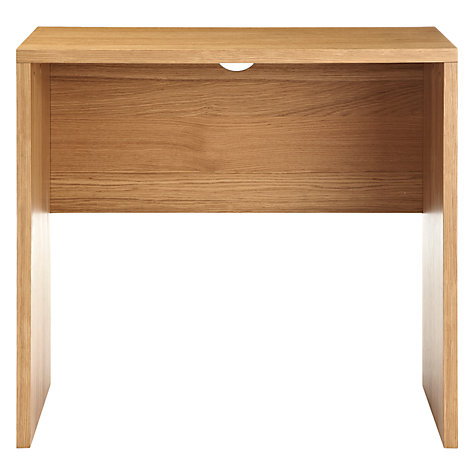 Buy John Lewis Abacus Small Desk, Oak Online at johnlewis.com