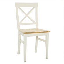 Buy John Lewis Pemberley Cross-Back Dining Chair Online at johnlewis.com
