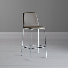 Buy John Lewis Xavier Bar Chair, Grey Online at johnlewis.com