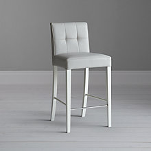 Buy John Lewis Simone Leather Bar Chair Online at johnlewis.com