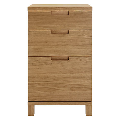 Buy John Lewis Abacus 3 Drawer Narrow Filing Cabinet Online at johnlewis.com