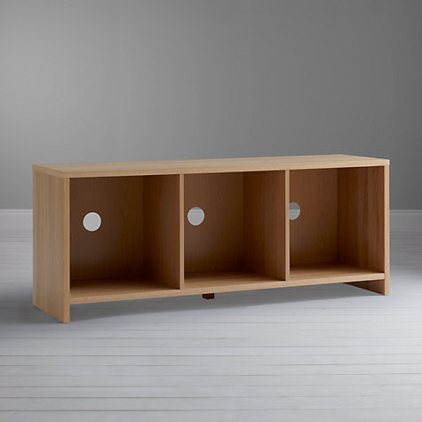 Buy House by John Lewis Oxford 3 x 1 Media Unit Online at johnlewis.com