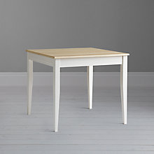 Buy John Lewis Pemberley Dining Table, Cream/ Ash Online at johnlewis.com