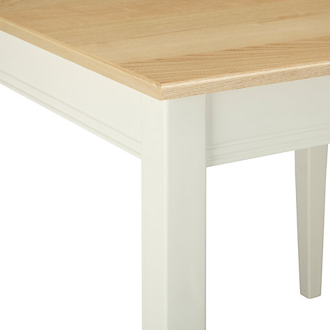 Buy John Lewis Pemberley Dining Table, Cream Online at johnlewis.com
