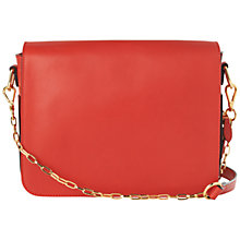 Buy Jaeger Lawrence Shoulder Chain Handbag, Red Online at johnlewis.com