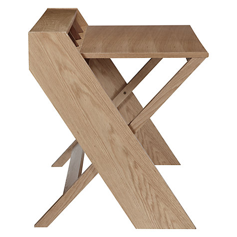 Buy John Lewis Ravenscroft Desk, Oak Online at johnlewis.com