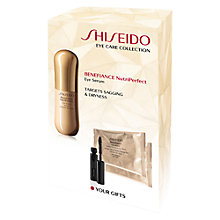 Buy Shiseido Benefiance Nutriperfect Eye Gift Set Online at johnlewis.com