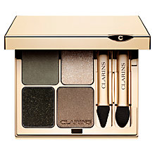 Buy Clarins Graphic Expression Eye Quartet Mineral Palette Online at johnlewis.com
