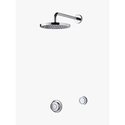 Aqualisa Rise XT Digital Concealed HP/Combi Shower with Wall Fixed Head