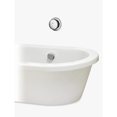 Aqualisa Rise XT Digital HP/Combi Bath with Overflow Filler