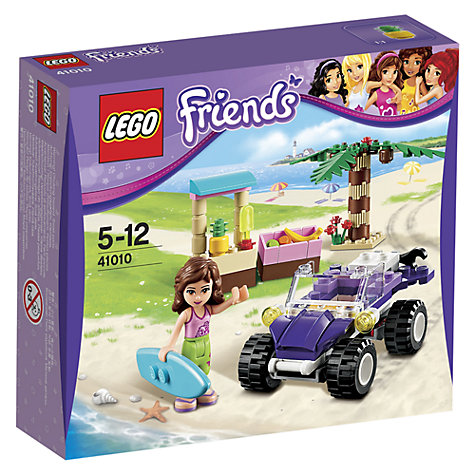 The Fun Begins with the Build. The Olivia's House LEGO Friends set is built in sections, so kids can mark their progress room by room. Have a blast putting together the accessories for the kitchen, living room, bathroom, and bedroom, and decorate using the included flower pack.