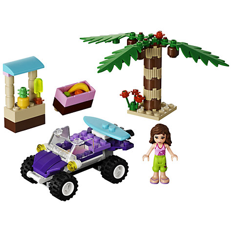 Buy LEGO Friends Olivia's Beach Buggy Set Online at johnlewis.com