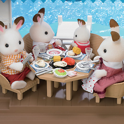 Buy Sylvanian Families Seaside Restaurant Online at johnlewis.com