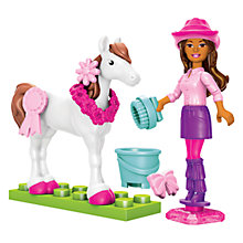 Buy Barbie Mega Bloks Build 'n' Style Pony Trainer Online at johnlewis.com