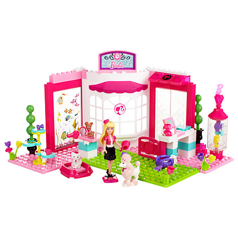Buy Barbie Build 'n Play Pet Shop Online at johnlewis.com