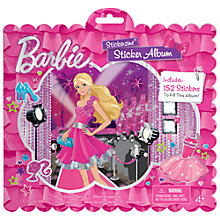 Buy Barbie Sticker Album Online at johnlewis.com