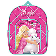 Buy Barbie Backpack, Pink Online at johnlewis.com